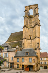 Sainte-Marie church in Sarlat-la-Caneda, France