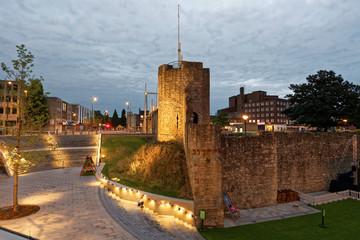 England - Southampton - Stadtmauer - Wachturm