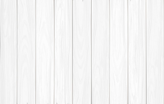 White wooden background: vertical narrow planks. Hand drawn, no trace.