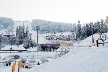 mountain resort Bukovel, Carpathians