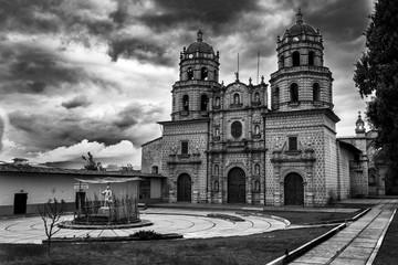 Una chiesa a Cajamarca, Perù