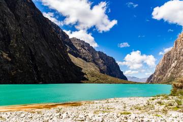 Laguna Llanganuco, Huaràz, Perù