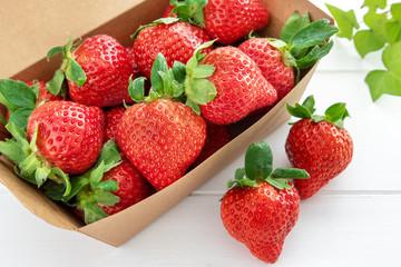 イチゴの写真素材