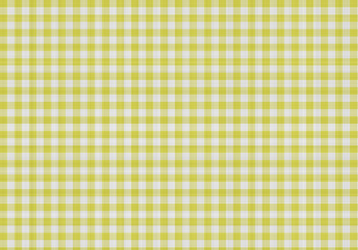 yellow gingham cotton background