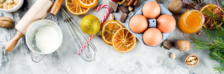 Christmas winter baking concept