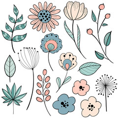Flower graphic design