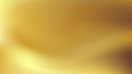 Gold gradient background. Abstract blur texture for website, brochure, template.