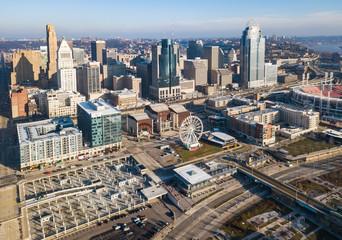 Aerial View of Cincinnati Ohio