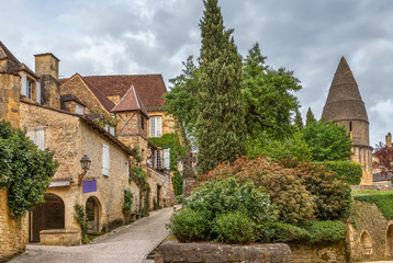 Street in Sarlat-la-Caneda, France