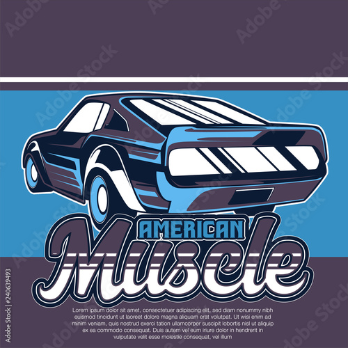 c934f534 vintage car t shirt vector design - Vector