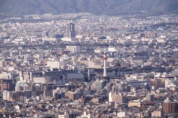 《京都》京都駅周辺の都市風景