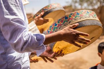 Berber Wedding In Merzouga Desert Wall mural