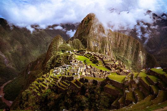 Sunshine on Machu Picchu