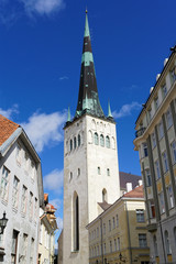 Nikolaikirche auf dem Domberg, Tallinn, Estland