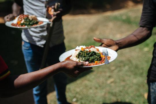 Traditional dish in Uganda, Africa