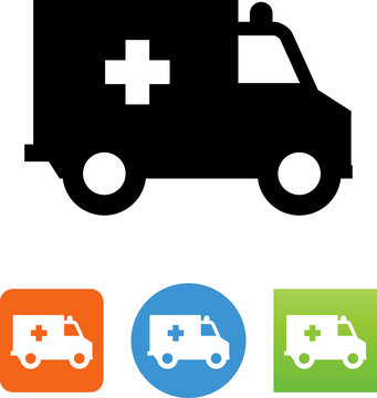 Ambulance Icon - Illustration