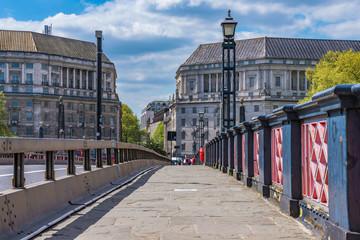 Lambeth bridge in Westminster