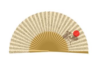 opened japanese fan