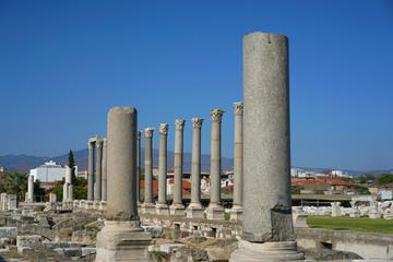 Agora, ancient izmir, Turkey
