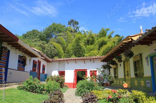 Acceso al Jardín Botánico Los Balsos. Jericó, Antioquia ...