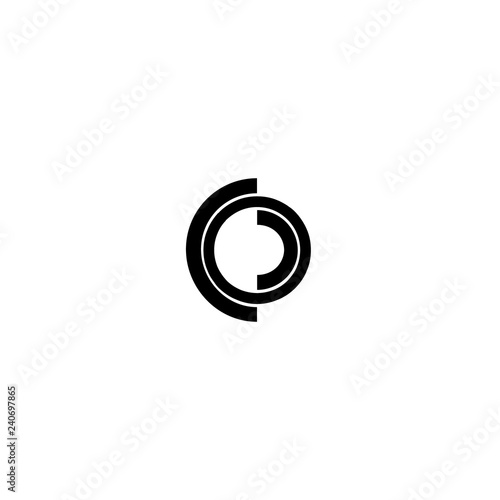 letter coco logo vector