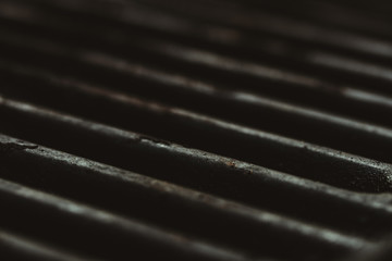 Rusted grilltop