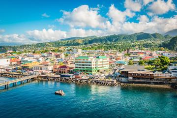 Fototapete - Roseau, Dominica, Caribbean