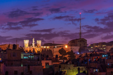 City of Jerusalem at dawn