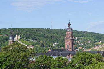 Würzburg mit Käppele und Neubaukirche