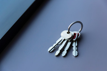 A Set Of Vintage Keys To A Late Model American Automobile