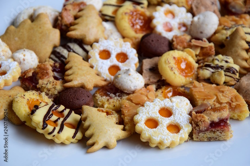 Weihnachtskekse 2019.Kekse Plätzchen Weihnachtskekse Weihnachtsplätzchen Stock Photo
