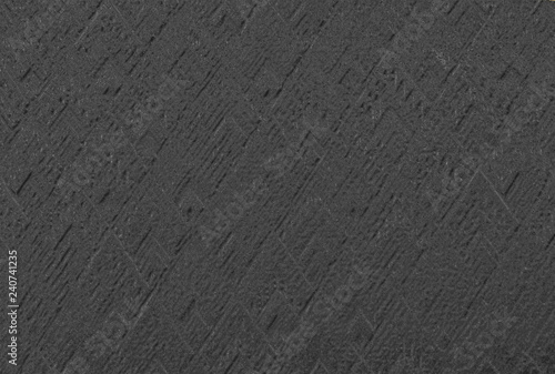 Abstract Emboss Pattern Background In Dark Gray Color Sand