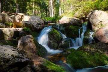 Wasserfall im Harz