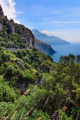 Amalfi Coastline in Italy