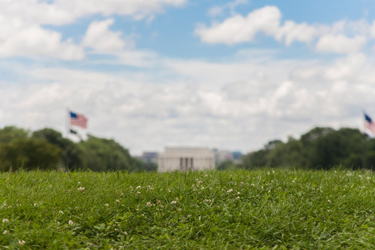 Lincoln Memorial from Grassy Hill