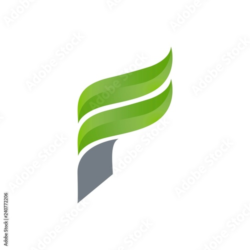 Creative Letter F Square Logo Template Vector Illustration Logo For