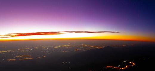 Landscape mountain morning sunrise beautiful scenery
