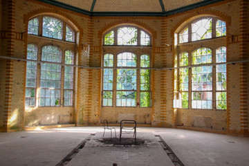 Wall Murals Old Hospital Beelitz Ruins of Beelitz-Heilstätten Lost place Berlin Brandenburg;