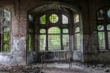 Ruins of Beelitz-Heilstätten Lost place Berlin Brandenburg;