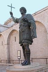 Aluminium Prints Historic monument il Colosso di Barletta detto