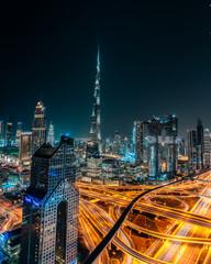 Cityscape of Dubai, UAE