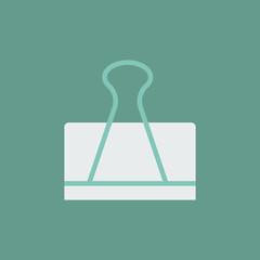 Silhouette icon clip for paper
