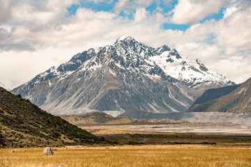 New Zealand moutain view