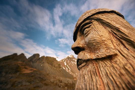 Wooden Viking, Iceland