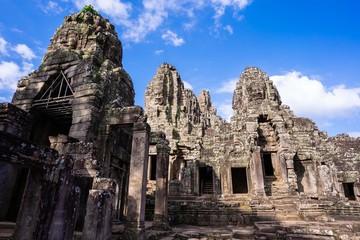 Bayon castle at Angkor thom