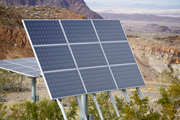 Solar Panels in the Desert