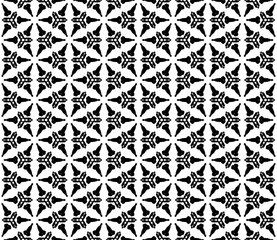 Abstract seamless kaleidoscope design background.