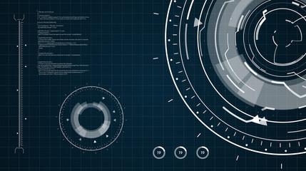 Digital Hi-Tech Background