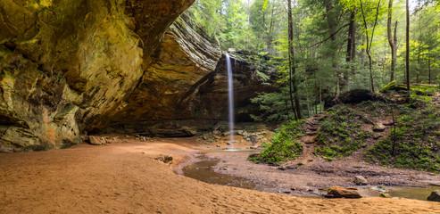 hocking hills, waterfall, nature at its best, hiking,