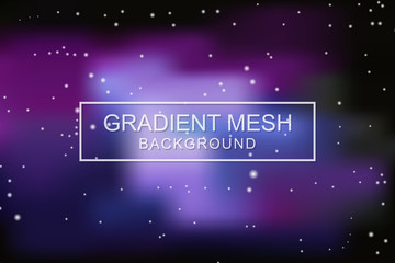 space concept vector background